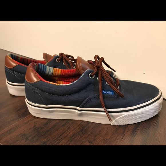 011975eb43 Vans Era 59 Navy Canvas Skate Shoes Women s Sz 6. M 5afbd36e8290aff918afe13f